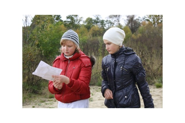 Маша Степакина и Таня Орлова в поисках клада