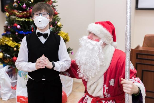 Беседа с Дедом Морозом
