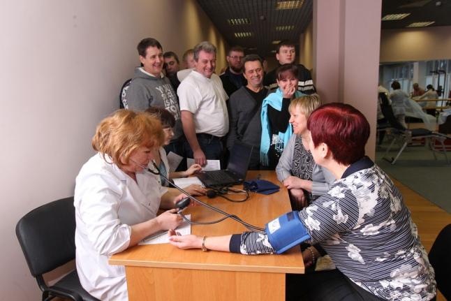 Донорские традиции в  ОАО «МОСГАЗ»