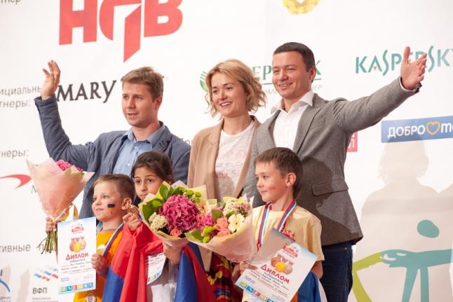 Самые младшие чемпионы: Анна Каленчан, Рома Михальский, Слава Петунин