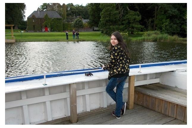 Барретстаун-2012. Настя Шмелева на рыбалке