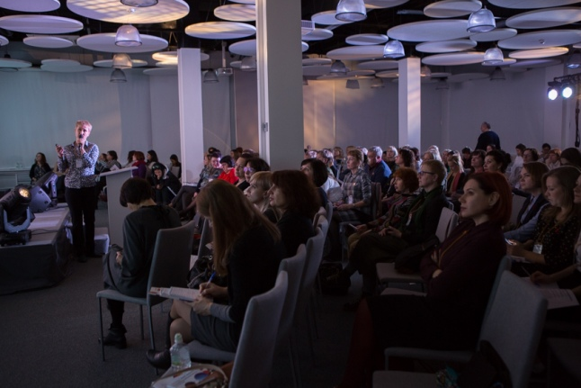 На презентации проекта фонда «НОНЦ» (Нижний Новгород)