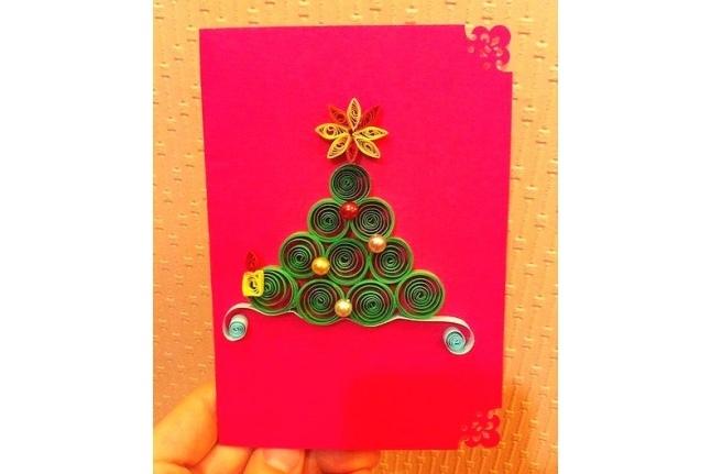 Новогодняя благотворительная открытка