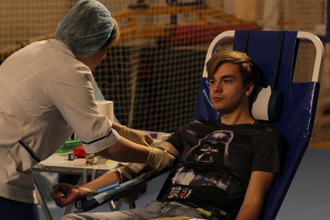 Некоторые из доноров сдавали кровь впервые