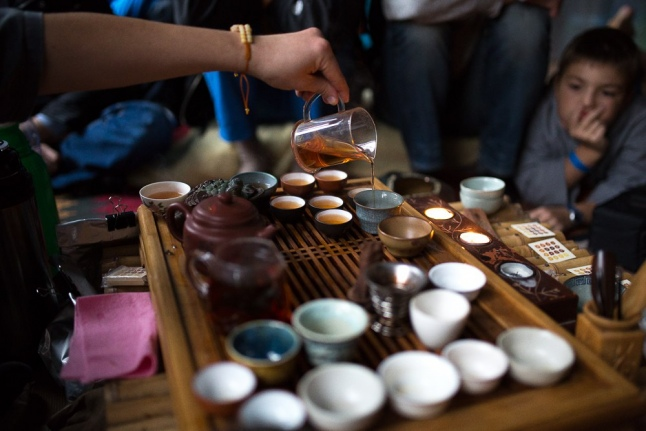 Безумное чаепитие в «Чайной мастерской»