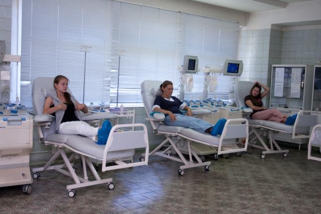 Современное отделение переливания крови (РДКБ)