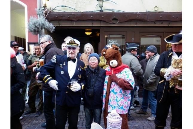 Вова Аксенов на карнавале
