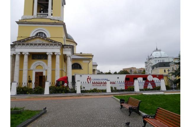 Донорская акция в храме Вознесения Господня у Никитских ворот