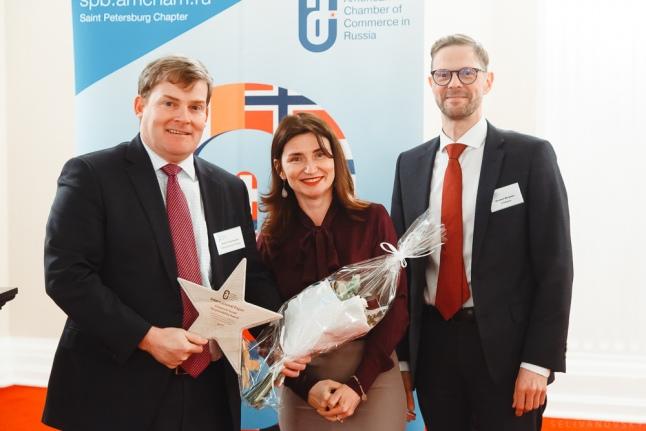 International Paper Россия отмечена наградой Американской торговой палаты
