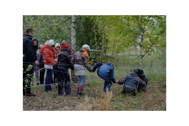 """Преодолеваем препятствия, 1-я смена Центра """"ВКС"""", сентябрь 2011 года"""