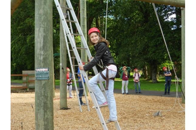 Барретстаун-2011, Рита Савина на занятии High Rops