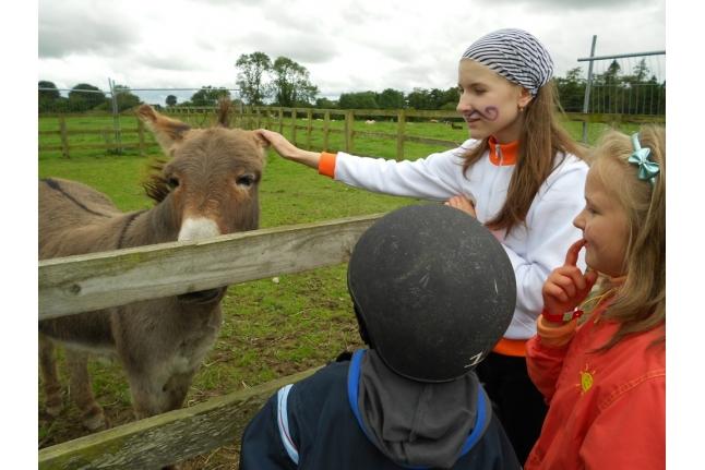 Барретстаун-2011, Рита Савина с друзьями на конюшне