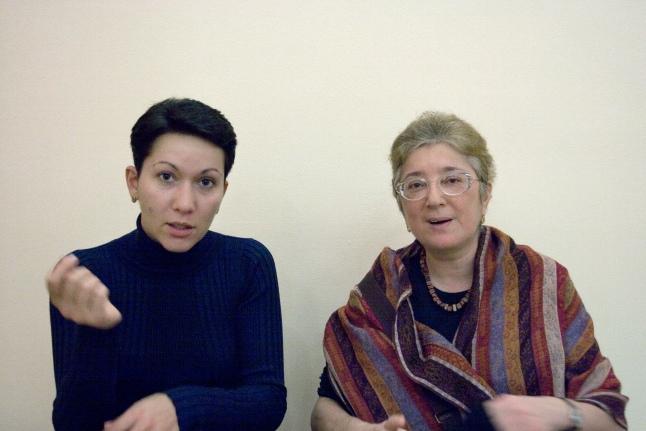 С Галиной Чаликовой