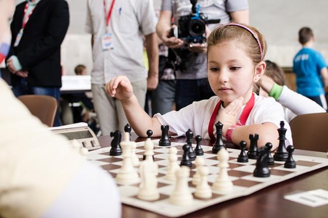 Самые юные шахматисты