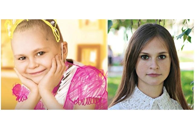 Женя Асеева: до и после болезни