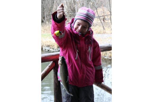 Соня на рыбалке