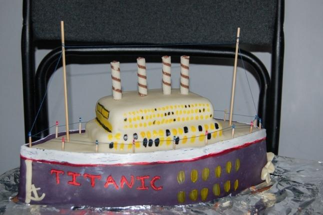 "Торт ""Титаник"" на аукционе в лицее 1535"