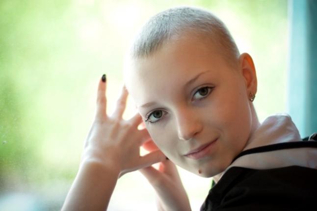 Аня Тришечкина во время болезни