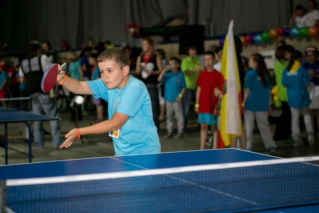 Александр Лэпушнян из Молдовы — золотая медаль в группе 7-9 лет!