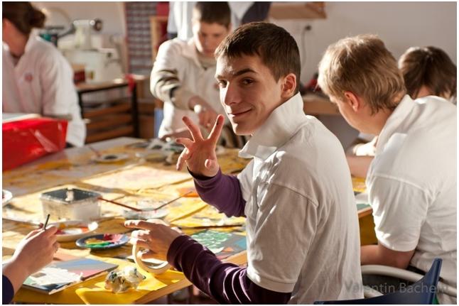 Лесные Пираты-2011, Ваня Чернов и другие ребята в творческой мастерской