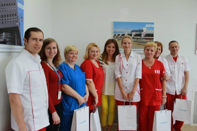 Выездная бригада Центра крови