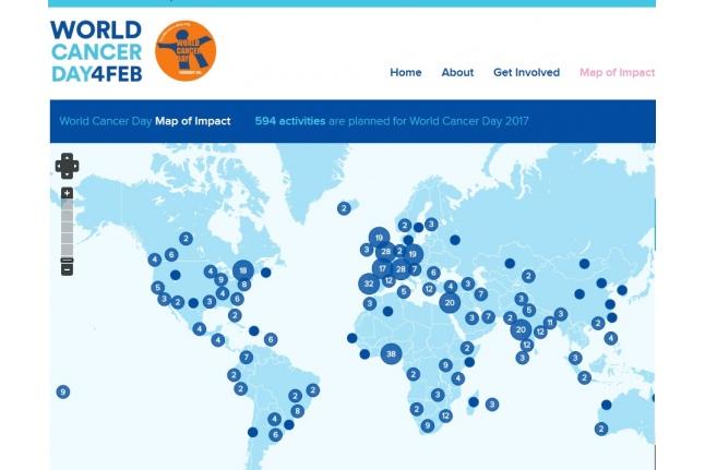 World Cancer Day (http:/www.worldcancerday.org/)