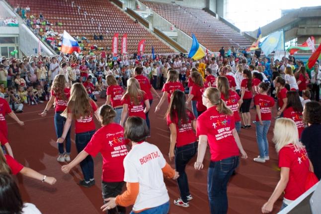 Закрытие Игр: вожатые и волонтеры