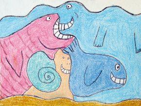 Веселые чеширские морские звери