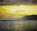Море. Рисунок Кати Рыбкиной