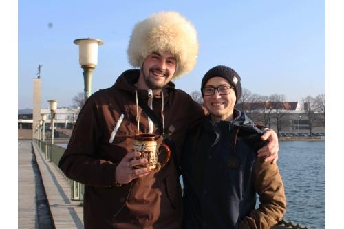 Тимо и Ахмед, Ганновер, ноябрь 2018 года