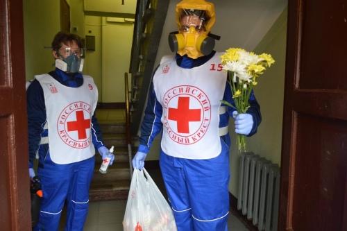 Волонтеры РКК на выезде