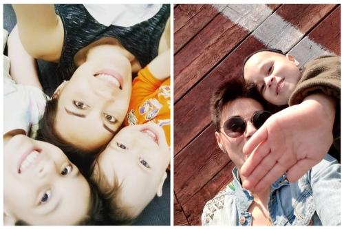 Вместе и до и после