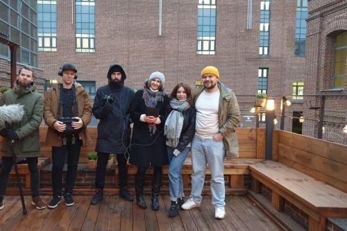 В этом году Анна вернулась в Московскую школу кино. И уже снова снимает