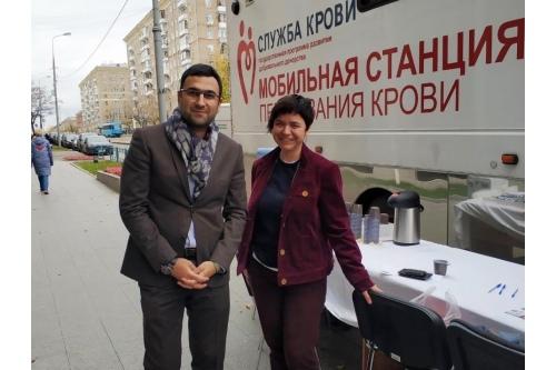 День донора в ООО «СИБУР»