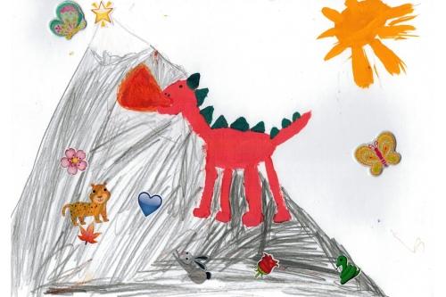 Рисунок Полины Водничар, МООД г. Балашиха
