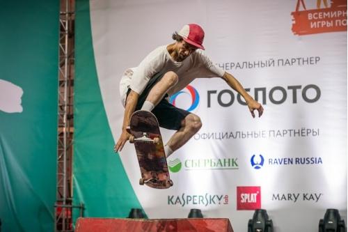 Скейтбордисты покорили участников Игр победителей