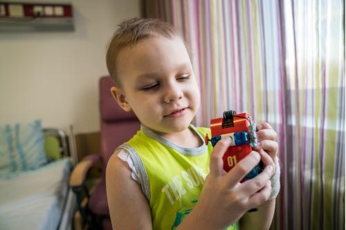 Лего для Вани отрада и утешение
