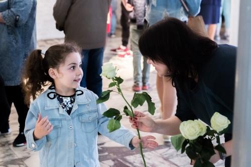 Сестры (и братья) на Дне Памяти детей