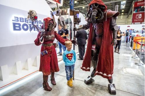 Фантастический мир Звездных войн завораживает не только детей