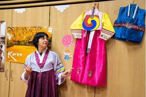 Национальные корейские костюмы