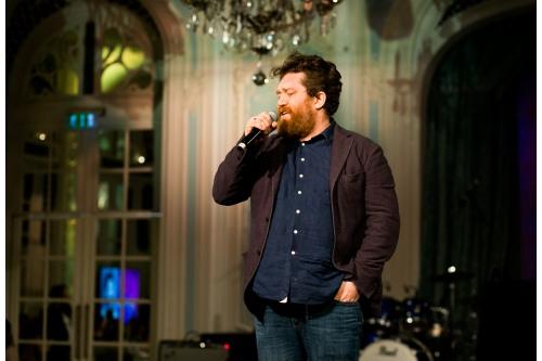 Алексей Зимин, журналист, путешественник и шеф-повар на Гала-вечере