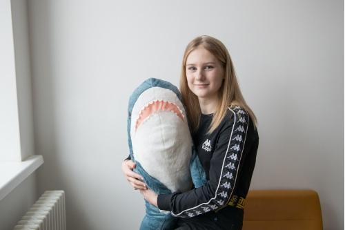 За акулой Искоркой Даша с мамой поехали в Икею