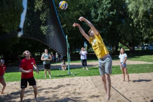 Волейбольный турнир вызвал большой интерес