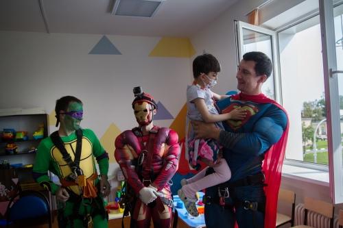 В объятиях супергероя