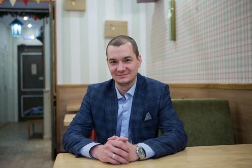 Павел Овчинников, заведующий отделением заготовки крови и ее компонентов