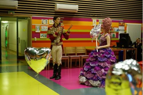 Щелкунчик и фея Драже пригласили зрителей в сказку