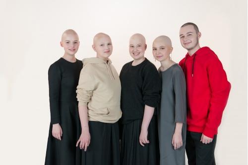 Вместе: Софья, Света, Вера, София и Стас
