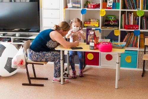 Новая игровая комната, куда так стремятся дети
