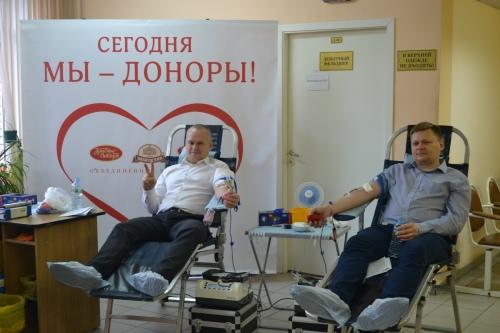 Все больше сотрудников холдинга участвует в донорских акциях