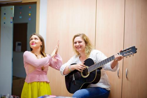 Алеся Козлова и Юлия Болейнингер